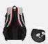 Рюкзак городской Taolegy Sport с выходом для гаджетов Черный Красный, фото 5