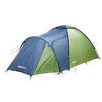 Палатка трехместная Кемпинг Solid 3 зеленая, фото 1