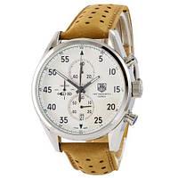 Кварцевые мужские часы  TAG Heuer Carrera 1887 SpaceX Quartz Silver-White