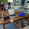 Портативная беспроводная колонка Hopestar H24 (Bluetooth микрофон Power Bank USB) Черный, фото 5
