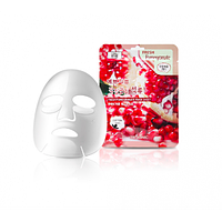 Тканевая маска для лица осветляющая с гранатом,  3w Clinic Fresh Pomegranate Mask Sheet, Корея, фото 1
