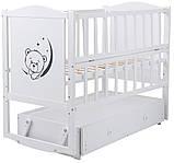 Детская кроватка Babyroom Тедди Т-03 с ящиком, фото 2