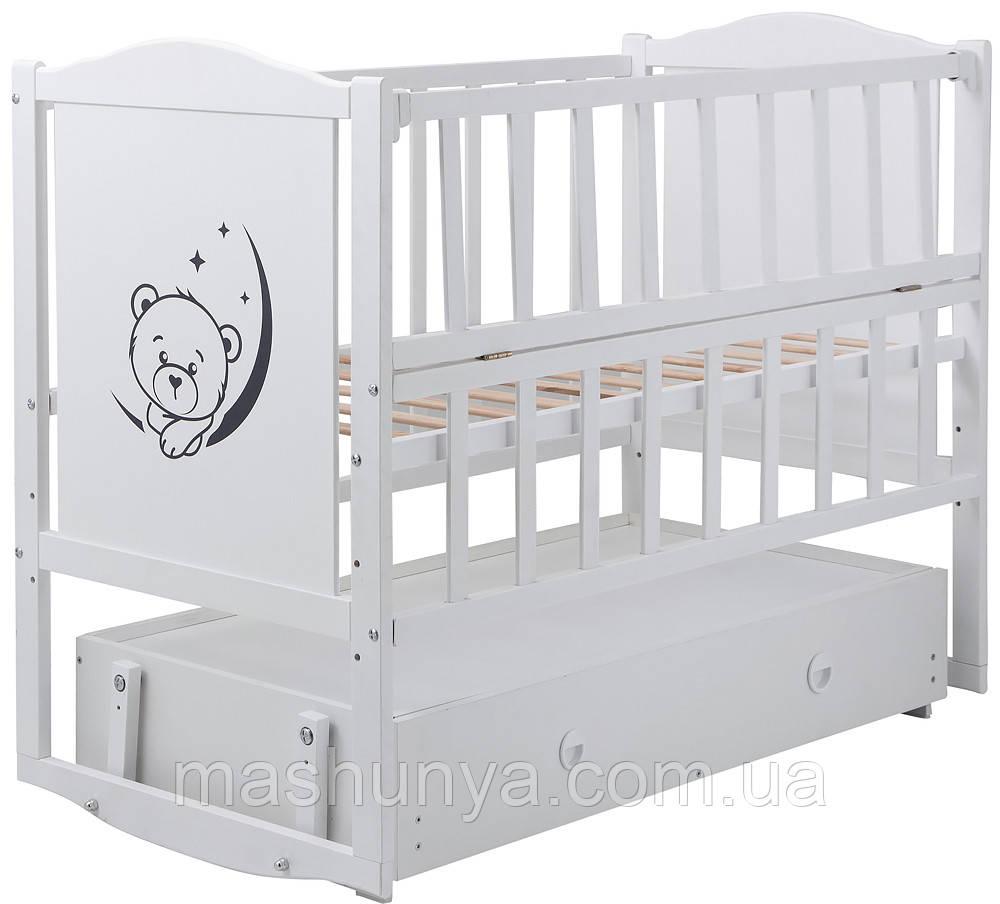 Детская кроватка Babyroom Тедди Т-03 с ящиком