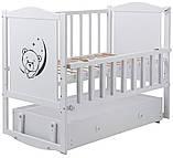 Детская кроватка Babyroom Тедди Т-03 с ящиком, фото 5