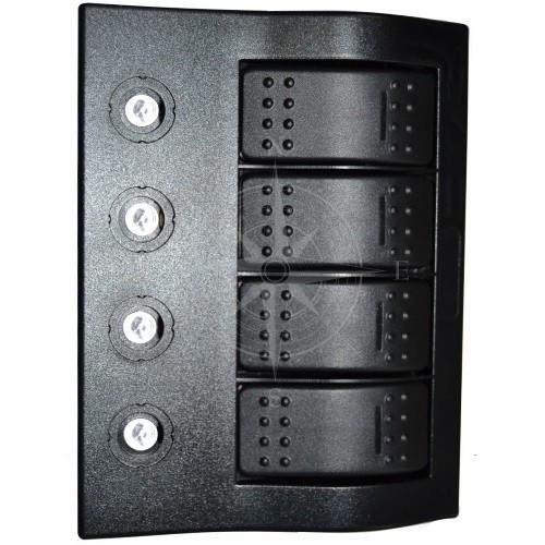 Панель управления, горизонтальная, 4 клавиши, IP68, Sunfine.