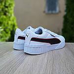 Чоловічі кросівки Puma Cali (біло-чорні) 10211, фото 2