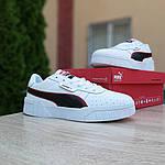 Чоловічі кросівки Puma Cali (біло-чорні) 10211, фото 9