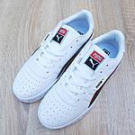 Чоловічі кросівки Puma Cali (біло-чорні) 10211, фото 8