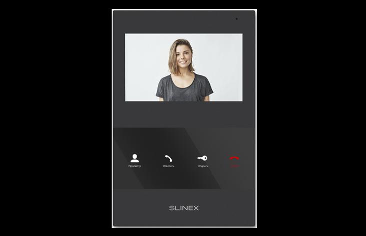 Відеодомофон Slinex SQ-04M Black