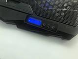 Подставка охлаждающая для ноутбука 4 вентилятора, диагональ 9-17 дюймов чёрный S18, фото 6