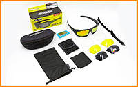 Очки спортивные солнцезащитные Rollbar 3 сменные линзы