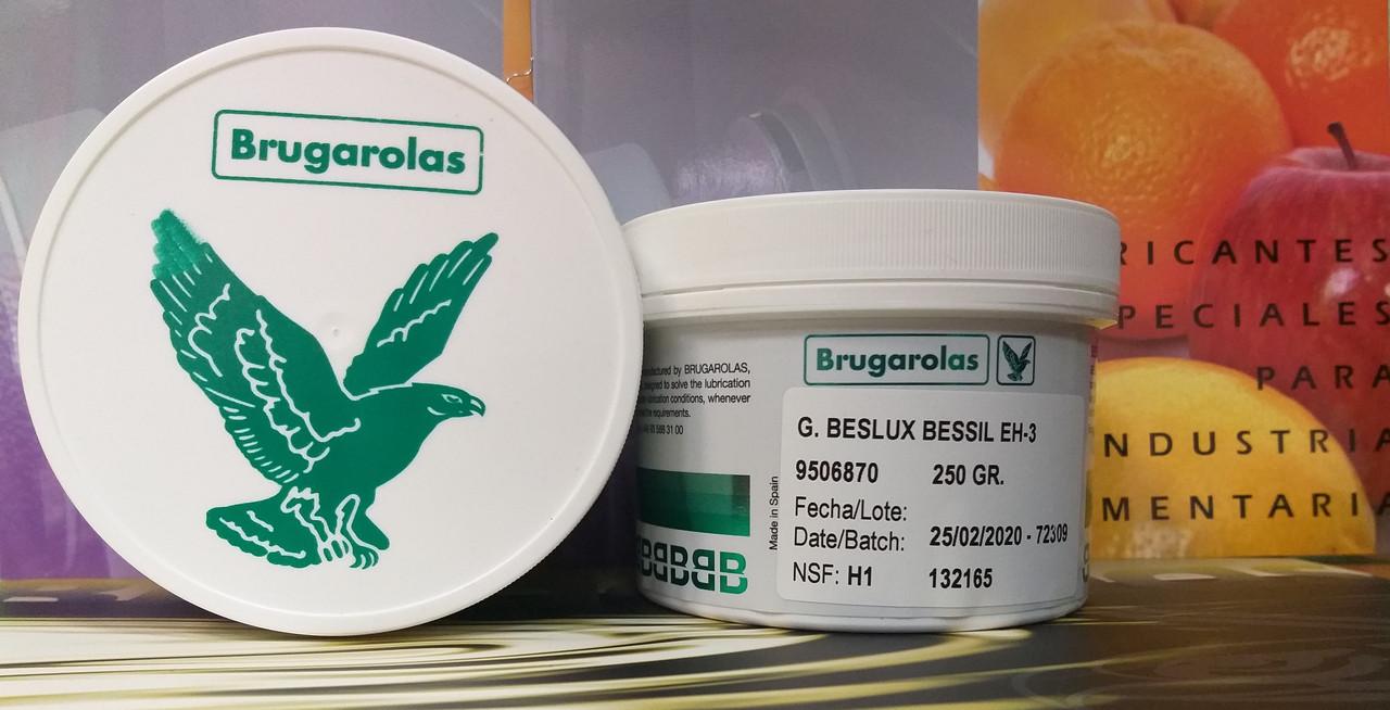 Силиконовая пищевая смазка G.BESLUX BESSIL EH-3 (баночка 250 г)
