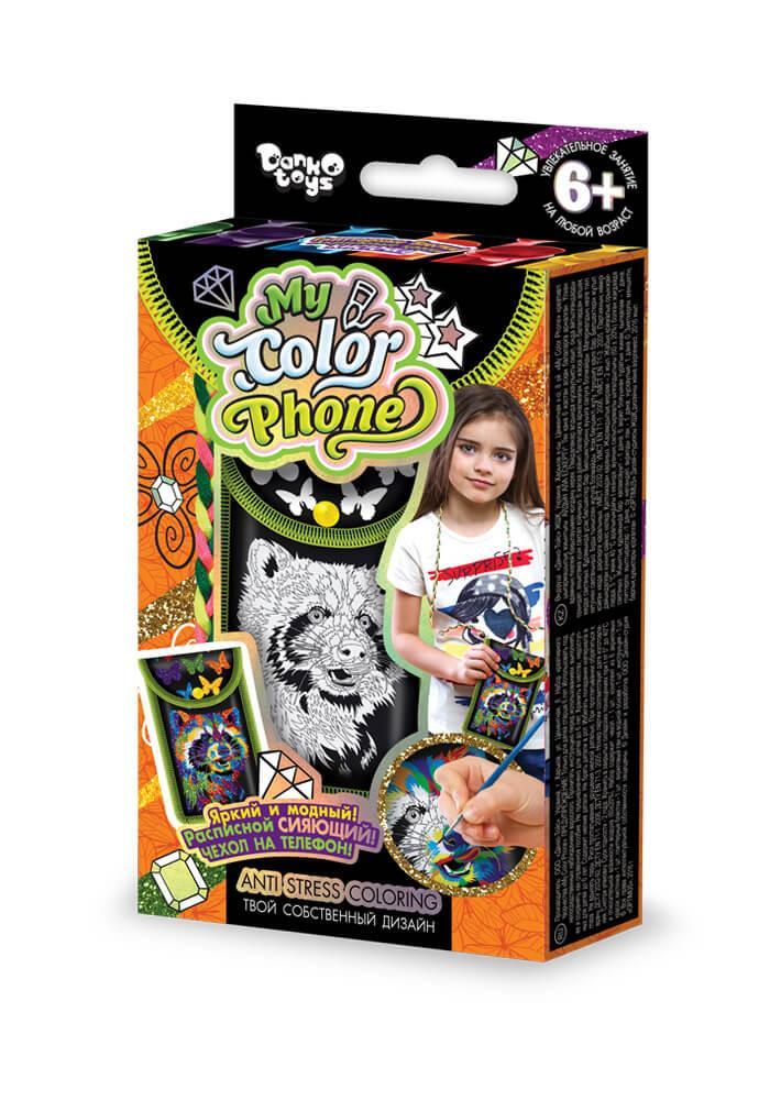 "Набор для творчества ""My Color Phone"" чехол- раскраска в кор. 22*15*3см (12шт)"
