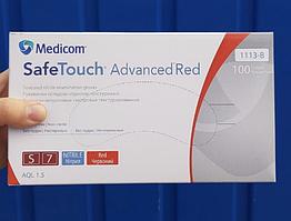 Перчатки смотровые нитриловые текстурированные без пудры нестерильные 4 г (100 шт/уп) Red Medicom (S)