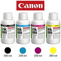 Комплект чернил ColorWay Canon PG-445/CL-446, 4x200 мл, краска для принтера кэнон для картриджа кенон чернила