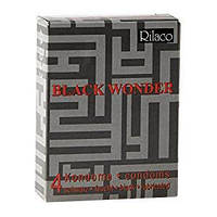 Презервативы Rilaco Black Wonder, 4 шт.