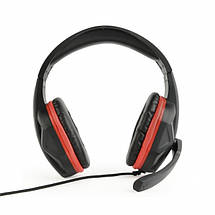 Наушники с микрофоном Gembird GHS-03 Black, гарнитура для компьютера и ноутбука, фото 3