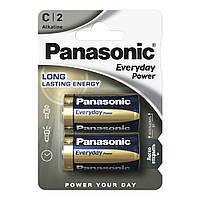 Батарейка PANASONIC  EVERYDAY POWER LR14, 2шт