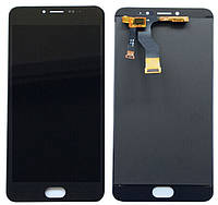 Модуль Meizu M3 Note black (оригинал, версия M681h) дисплей экран, сенсор тач скрин Мейзу М3 Нот