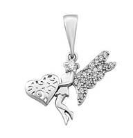 Срібний Кулон Фея, фото 1