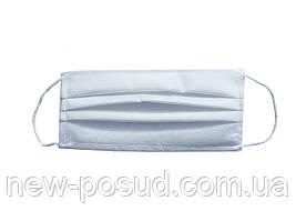 Маска для лица защитная четырехслойная белая (от 10 шт.) KS-001