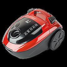 Пылесос Scarlett SC-VC80C88 красный, 1800 Вт, мешок 1.5 л + циклон 2.5 л, насадка мебель/щель, щетка пол/ковер, фото 3