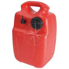 Бак топливный переносной, 12 литров, пластик Eltex, оранжевый, CAN-SB.