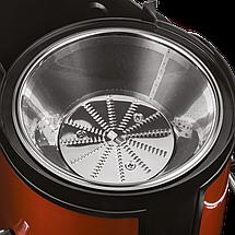Соковыжималка Scarlett SC-JE50S16 оранжевая, 850 Вт, 2 скорости для мягких и твердых продуктов, фото 3