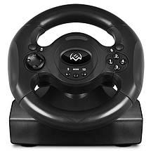 Игровой Руль и Педали для ПК Sven GC-W300, приставка-руль с педалями для компьютера и ноутбука, фото 3
