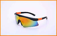 Велоочки солнцезащитные Оранжевый