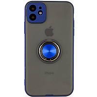 "TPU-PC чехол Deen Shadow Ring series для Apple iPhone 11 (6.1""), фото 1"