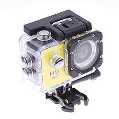 Экшн камера HD Vision F60R - Full HD 4K Wi-Fi с пультом ДУ Yellow hubkejR84647, КОД: 1371142