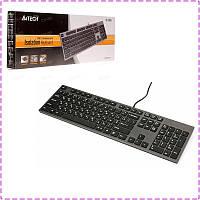 Клавиатура A4tech KV-300H USB X-Key +USB порт, grey