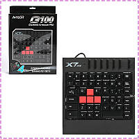 Игровой блок A4tech X7-G100 USB black, кейпад