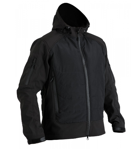Куртка Soft Shell Gladiator Black // РАЗМЕРЫ M / L / XXL