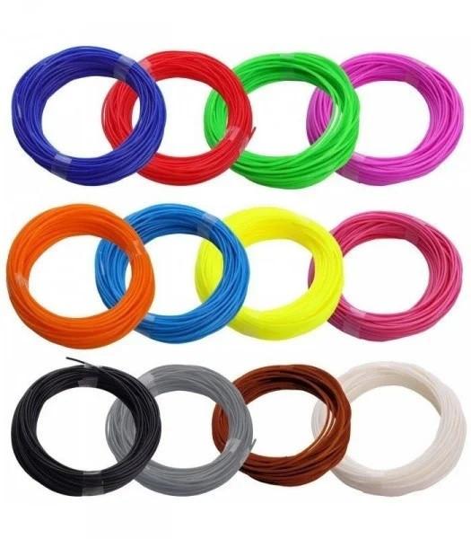 Пластиковые нити PLA для 3D ручек (цена за упаковку)