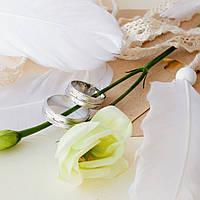 Серебряное обручальное кольцо, фото 1