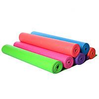 Коврик для йоги и фитнеса YOGА MAT 173 х 61 х 0.3 см йога мат гимнастический