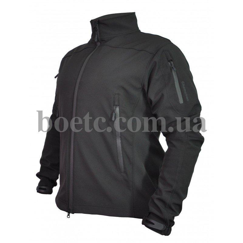 Куртка Soft Shell Intruder Black // РАЗМЕРЫ S / M / L / XXL