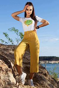 Летние женские брюки - кюлоты