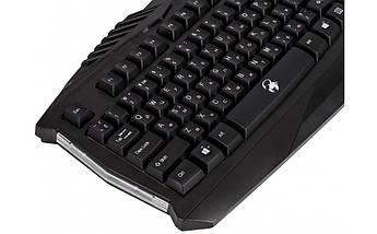 Ігрова клавіатура Genius Scorpion K220 USB Black з підсвіткою 7 кольорів, геймерська клавіатура, фото 2