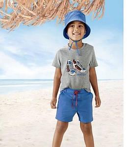 Летний набор (футболка, шорты) для мальчика Lupilu (Германия) р.110/116см