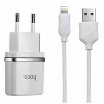 Зарядное устройство для iPhone, 1A, + кабель Lightning для айфона, зарядка на айфон (C11), фото 3