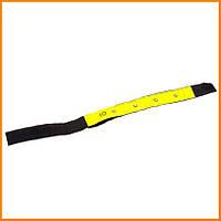 Светоотражатель на руку или ногу с LED лампочками, Светоотражающая полоса в виде браслета