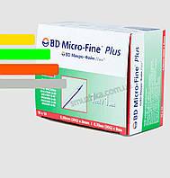 Инсулиновый шприц с интегрированной иглой U-40 BD Micro-fine Plus 1ml уп. 100 шт.