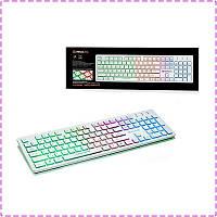 Клавиатура с подсветкой REAL-EL Comfort 7070 Backlit USB White
