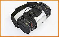 Моторюкзак пояс с металлической защитной накладкой