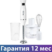 Блендер с чашей Vitek VT-8534, погружной, измельчител, мерный стакан, венчик