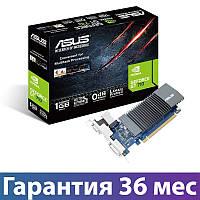 Видеокарта GeForce GT710, Asus, 1 Гб DDR5, 32-bit (GT710-SL-1GD5), низкопрофильная, відеокарта
