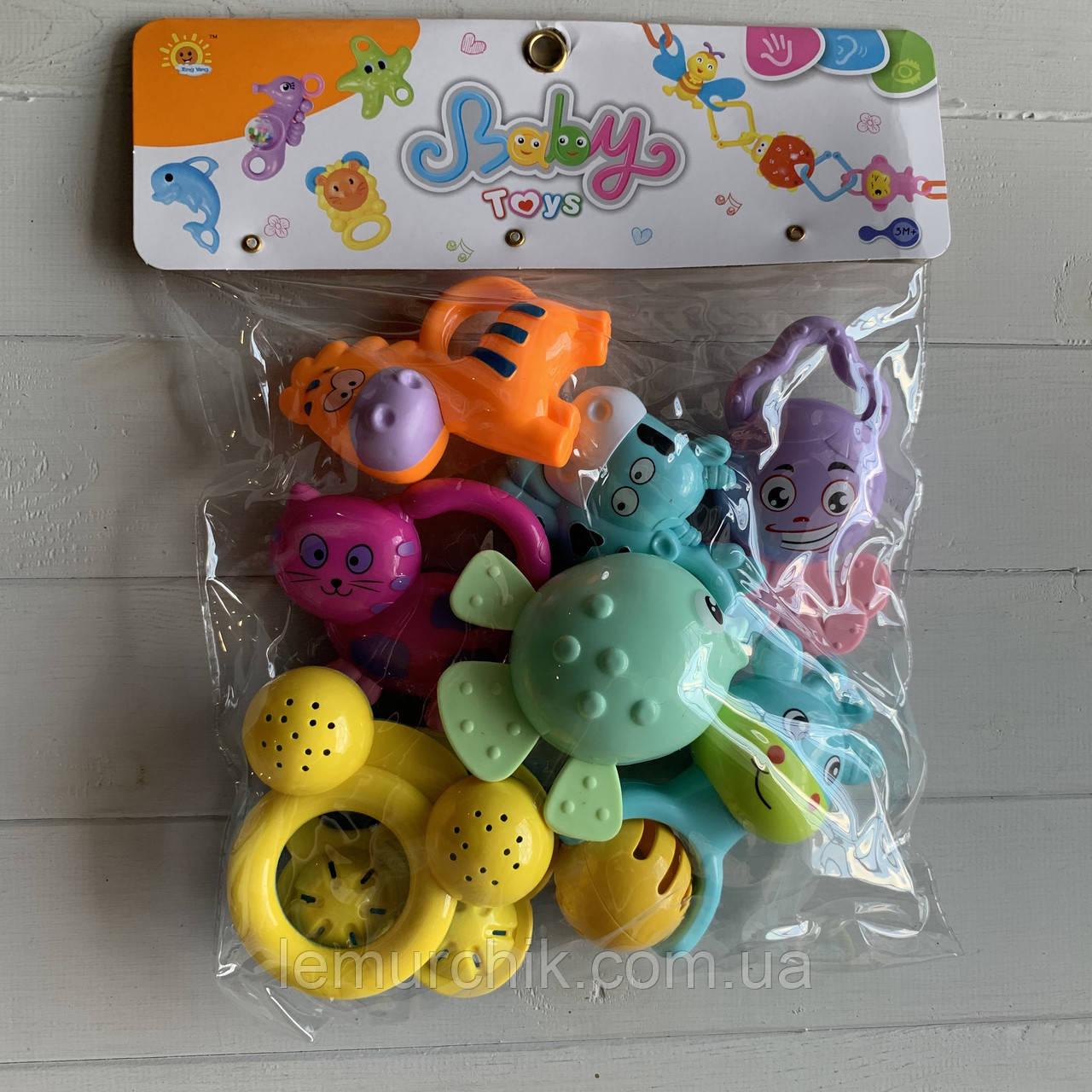 Набор игрушек-погремушек 7 штук